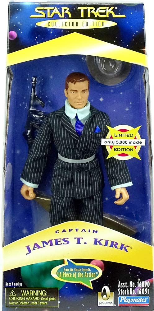 Limited Edition Only 5,000 Made Kirk From the Classic Episode A Piece of the Action Star Trek Collector Edition 9 Captain James T