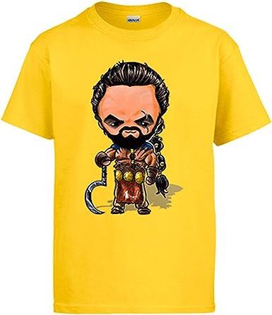 Diver Camisetas Camiseta Parodia de Juego de Tronos Khal Drogo Kawaii: Amazon.es: Ropa y accesorios