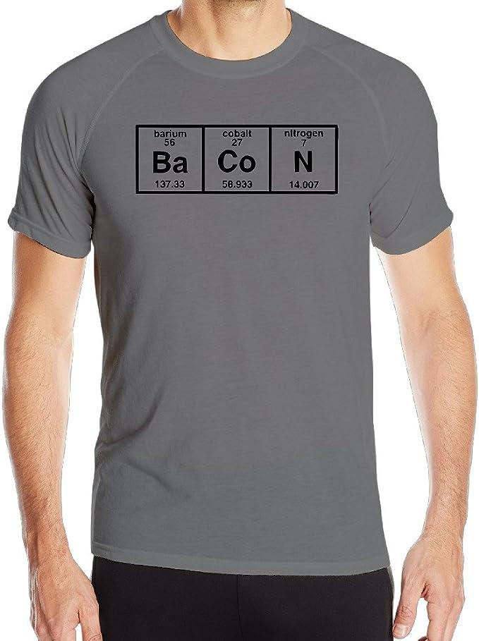 La Química de tocino – Camiseta de para hombre deporte: Amazon.es: Ropa y accesorios