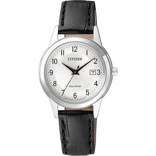 Citizen - Reloj de Pulsera analógico para Mujer Cuarzo Piel fe1081 - 08 A: Amazon.es: Relojes