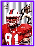 1999 Aurora Pinstripes #121 Torry Holt ST. LOUIS RAMS NORTH CAROLINA STATE WOLFPACK