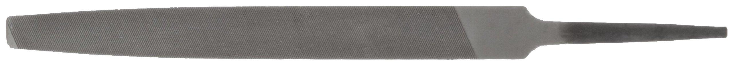 PFERD Mill Hand File, American Pattern, Single Cut, Rectangular, Medium, 10'' Length, 31/32'' Width, 11/64'' Thickness