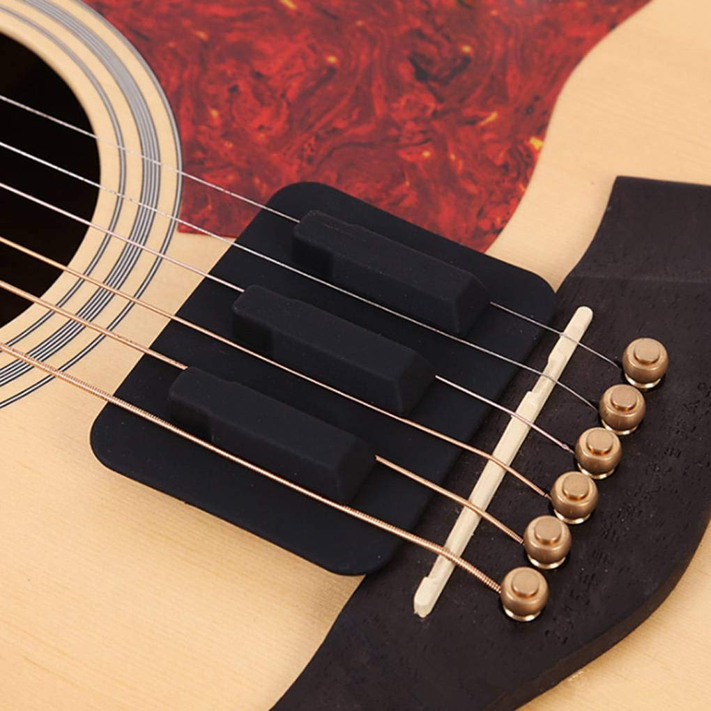 Almohadillas de Silicona para silenciar Guitarras acústicas folclóricas, de la Marca Level Weakening: Amazon.es: Electrónica