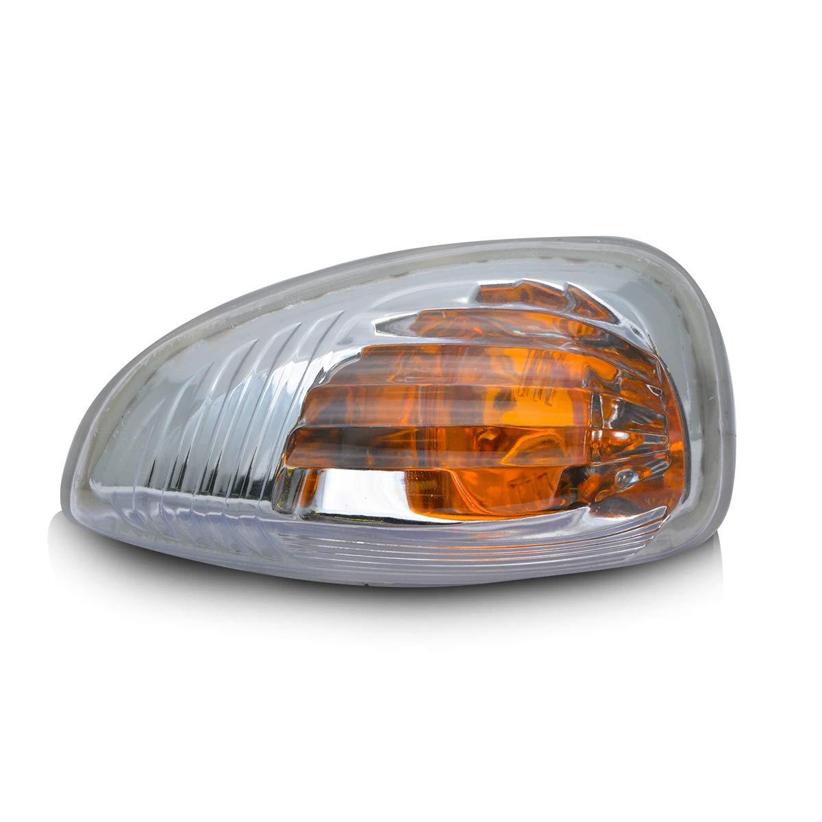 MASO Left Wing Mirror Indicator Lamp Lens Turn Signal Lights for Ford Transit MK8 2014