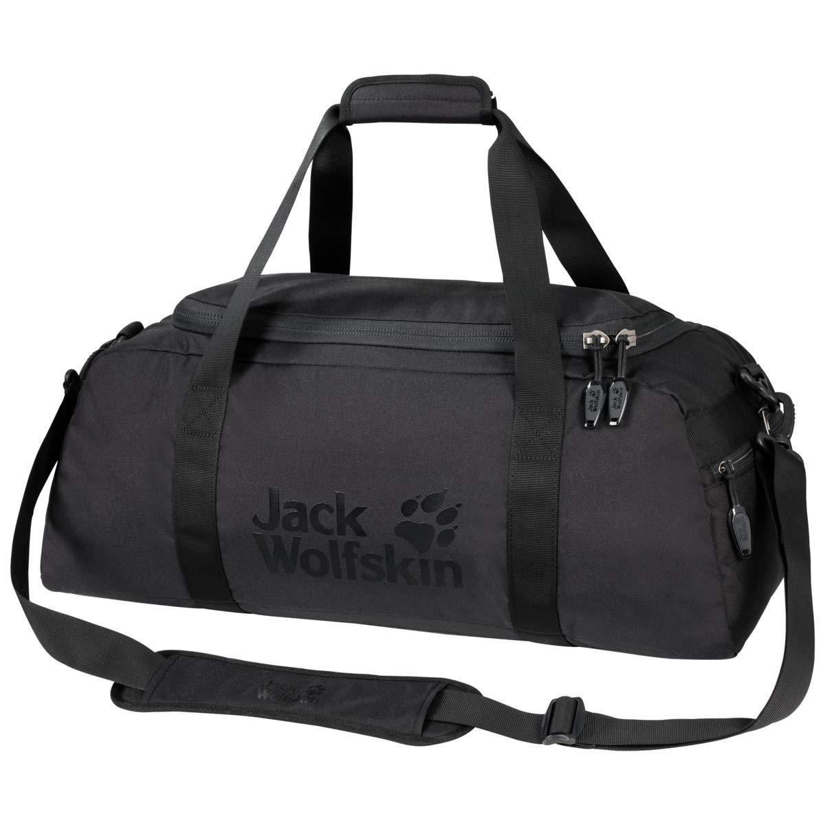 Jack Wolfskin Action Bag 35l Sports Duffle Bag, Black