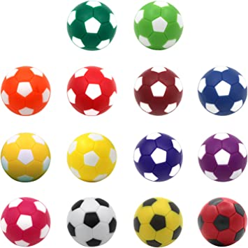 Gosear Bolas de futbolín, Bolas de Mesa de fútbol, 14 Unidades, 36 ...