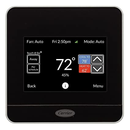 CARRIER Cor 7 Day Programmable Wi Fi Thermostat With Energy Reports TP WEM01