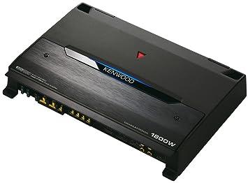 Kenwood KAC-9105D - Amplificador para coche de 900W, negro