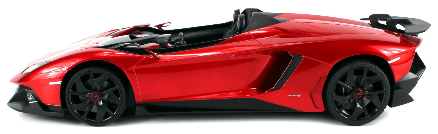 Amazon.com: Licensed Lamborghini Aventador J Roadster Limited Edition  Electric Remote Control Car Big 1:12 Scale Ready To Run RTR: Toys U0026 Games