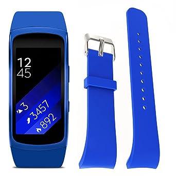 para Las Correas Samsung Gear Fit 2 Pro, Unhuafu1 Luxury ...
