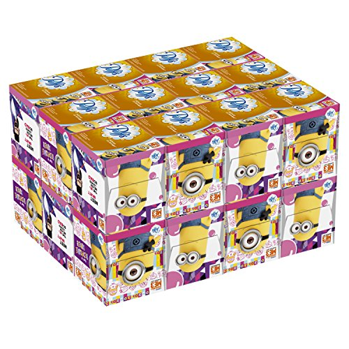 Puffs Everyday Facial Tissues Cubes with Minion Prints, Back to School Supplies (24 (Puffs Facial Tissue 24 Boxes)
