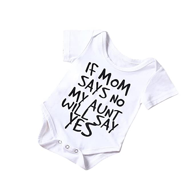 Newborn Infant Short Sleeve Bodysuit Baby Boys Girls Cotton Soft Letter Print Romper Jumpsuit Kids Clothes Outfit 0-24 Months