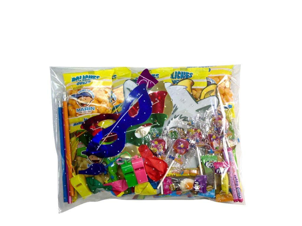 Lote de 4 Bolsas de Golosinas para Relleno de Piñatas ...