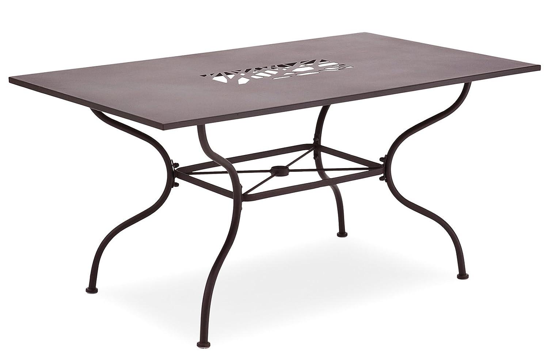 Belardo ALGIRI Tisch - - Tisch rechteckig, Farbe braun eb36ab