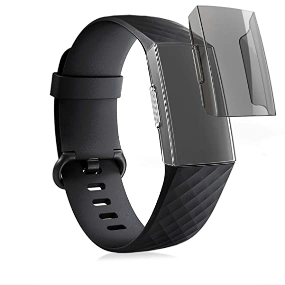 Amazon com: kwmobile Cases for Fitbit Charge 3 - Set of 2
