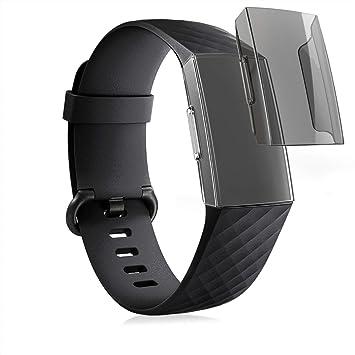 2x Hülle für Fitbit Charge 3 Fitnesstracker Cover Case Schutzhülle Fitness
