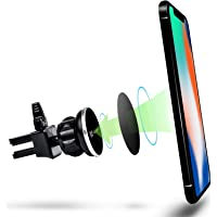 Vena [4Netic] Circle Magnetic Universal Air Vent Holder Compatible with iPhone SE 2020/XR/XS/XS MAX/X/8 Plus/8, Galaxy…