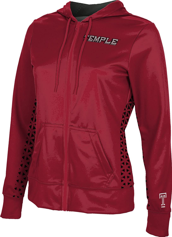 School Spirit Sweatshirt ProSphere Temple University Girls Zipper Hoodie Geo