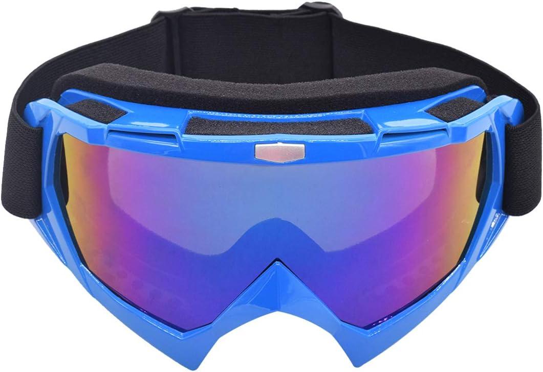 Motocross Vidrios a Prueba de Viento UV Goggle Miotlsy Gafas para el Polvo, Resistentes al Viento para Esquí, Patinaje, Escalada, Camping, Carreras, Gafas para el Polvo, Resistentes al Viento