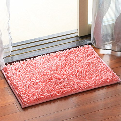 Household mats bedroom carpet mats bathroom mats toilet water-absorbing mat -4565cm B by ZYZX