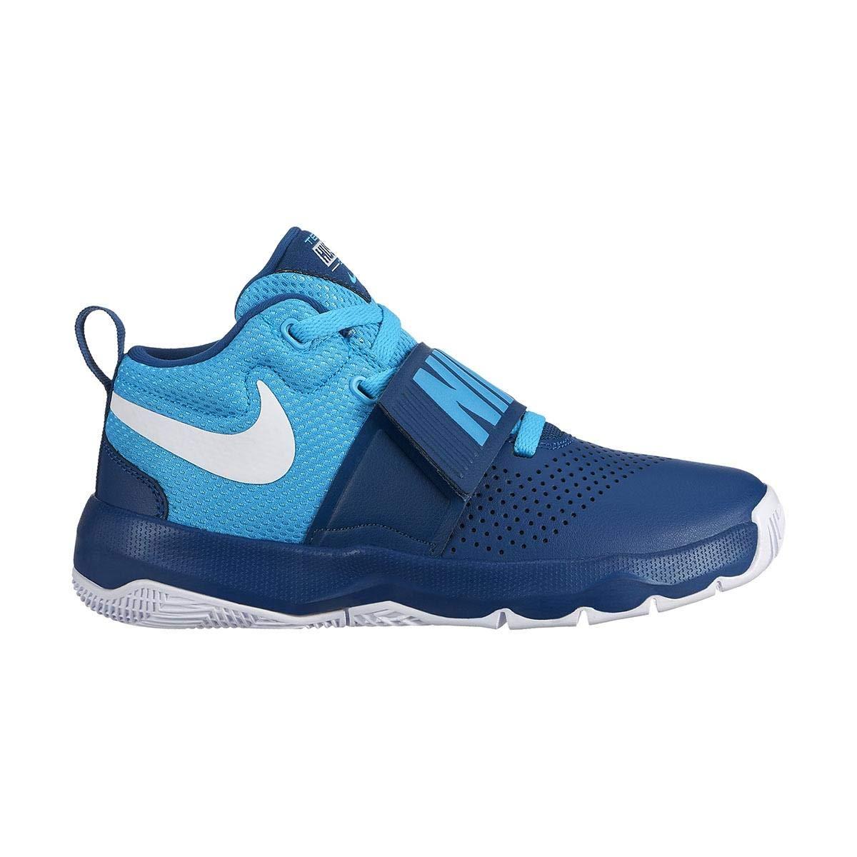 Mehrfarbig (Blau Force  Weiß  Blau Fury 406) Nike Jungen Team Hustle D 8 (Gs) Basketballschuhe