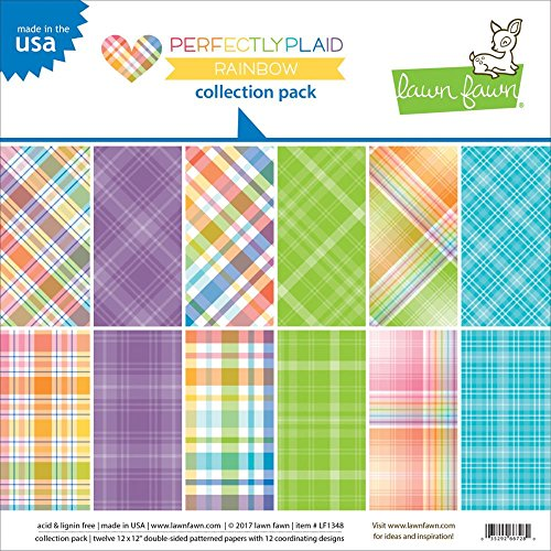 Lawn Fawn Double-Sided Collection Pack - LF1348 Perfectly - Lawn Fawn Paper