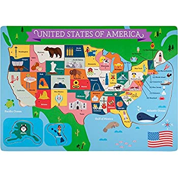 Amazon.com: Professor Poplar\'s Fifty-Nifty States United States of ...