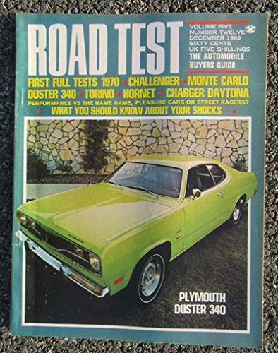 ROAD TEST 12/1969 [Plymouth Duster 340] ()