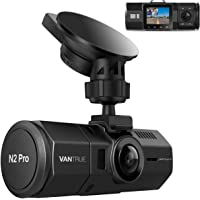 """Vantrue N2 Pro Dual Dash Cam Dual 1920x1080P Infrared Night Vision Front and Inside Dash Cam (2.5K Single Front Recording) 1.5"""" 310° Car Camera with Sony Sensor,24 Hours Parking Mode,Motion Detection, Loop Recording & G-Sensor,Support up to 256GB Card"""