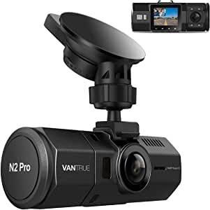 "Vantrue N2 Pro Dual Dash Cam Dual 1920x1080P Infrared Night Vision Front and Inside Dash Cam (2.5K Single Front Recording) 1.5"" 310° Car Camera with Sony Sensor,24 Hours Parking Mode,Motion Detection, Loop Recording & G-Sensor,Support up to 256GB Card"