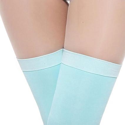 e7a7c4d7197 Amazon.com  SeTing Women Girls Veins Compression Stockings Burn Fat Thin  Sleeping Over Knee Stockings Leg Slimming Legging LifeShop Blue  Kitchen    Dining