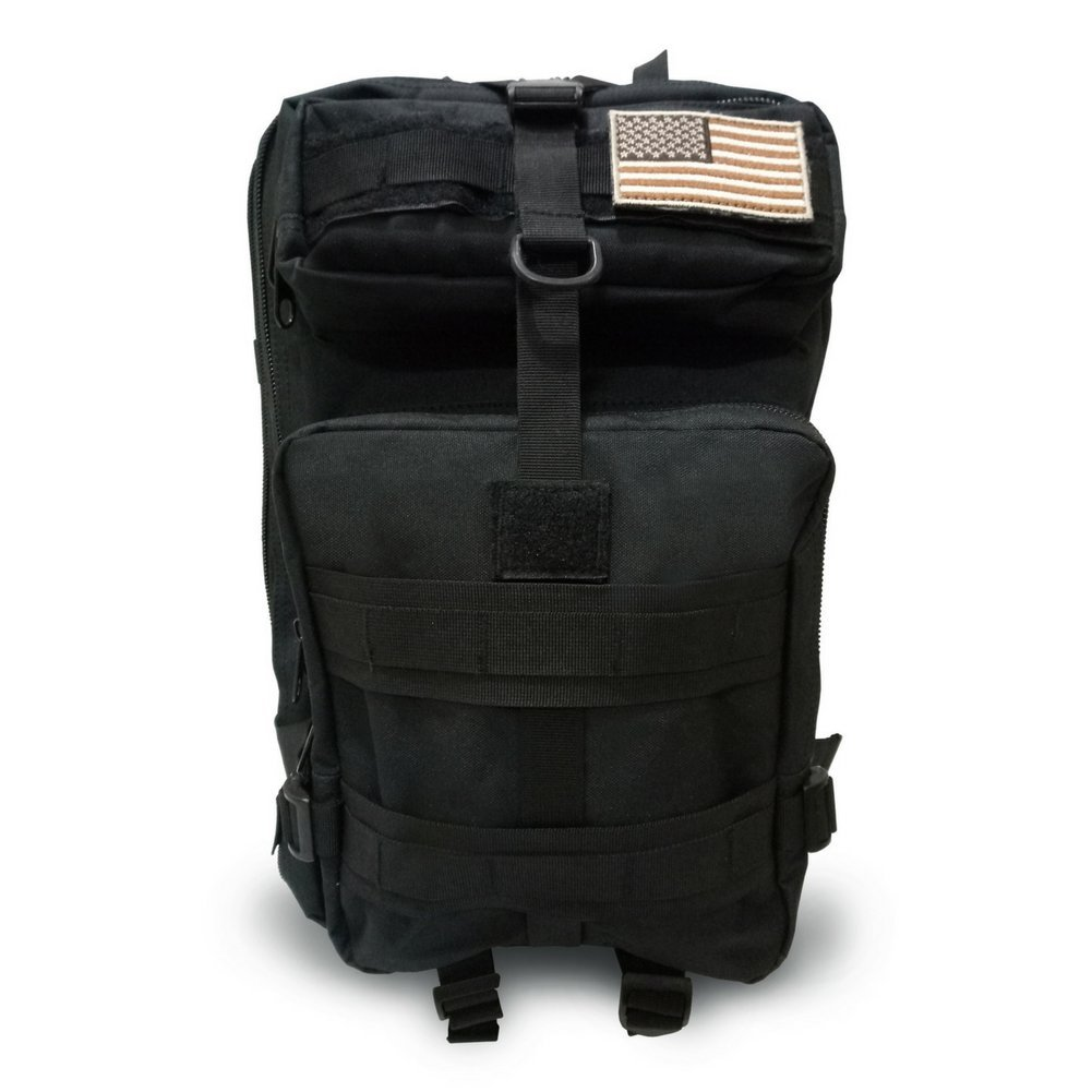 Military Tactical Backpack, Large Outdoor Rucksack for 3 Day Assault Pack Army Molle Bug Out Bag 40 L by Tacticca (Image #5)