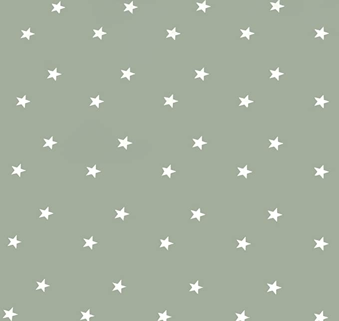 Home Direct Rectangular Oilcloth PVC Wipe Clean Tablecloth 140cm x 200cm 55x78 Stars Sage Green: Amazon.co.uk: Kitchen & Home