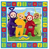 TELETUBBIES PARTY NAPKINS Brand New Range for 2016 - Pack of 16