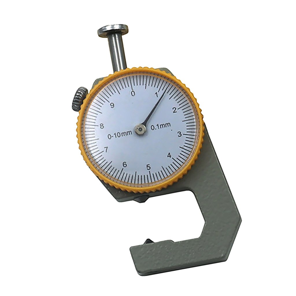 Sharplace Pointed Head Leather Thickness Metal Gauge Tester Measure Mechanical Craft