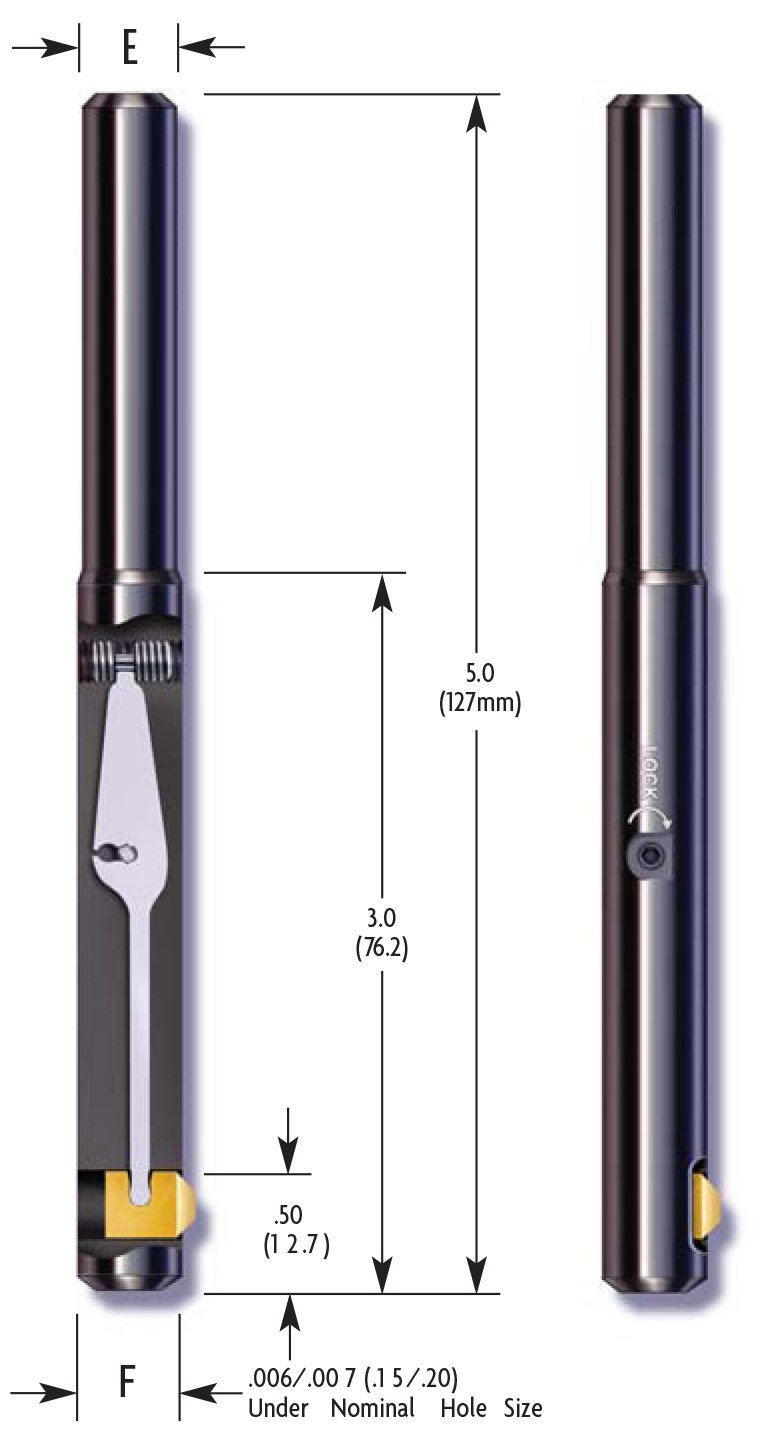 E-Z Burr Tool CRB0500-R (1/2 inch) Carbide (Pack of 1)