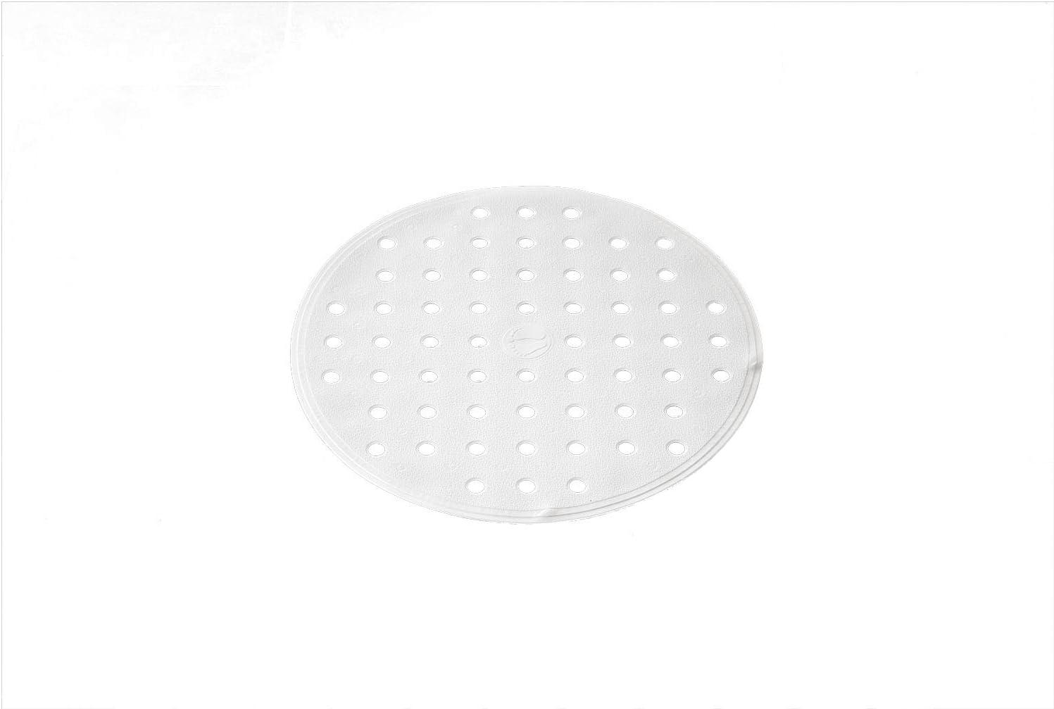 TPE = Thermoplastisches Elastomere /Ø 53 cm 100/% synthetischer Kautschuk beige ca RIDDER Action Duscheinlage