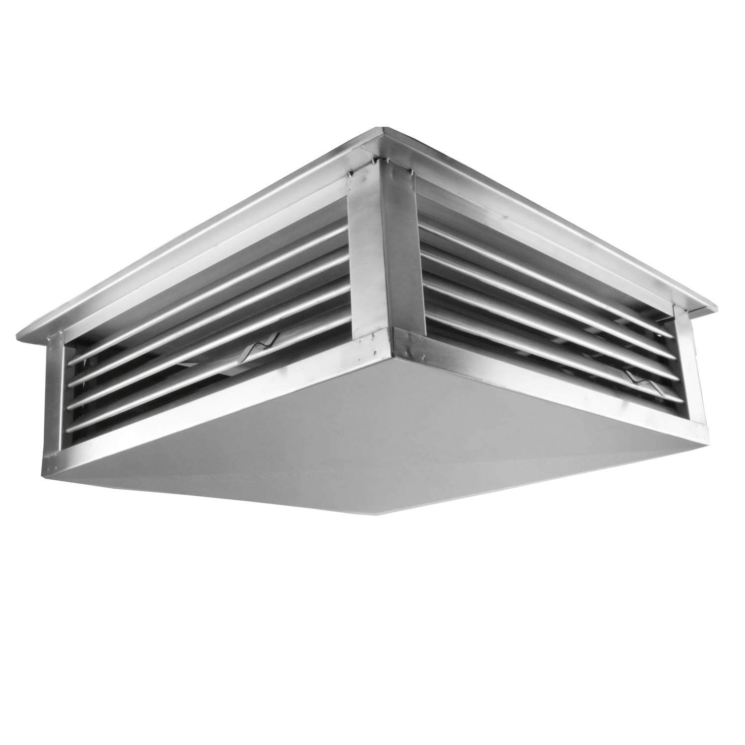 GSW DF-14S 14-Inch Stainless Steel 4-Way Adjustable Metal Diffuser for Evaporative/Swamp Cooler