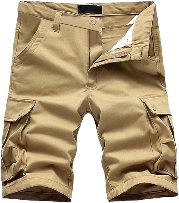 LUNULE Pantalones Cortos Hombre Verano, Bermudas Hombre Pantalon ...