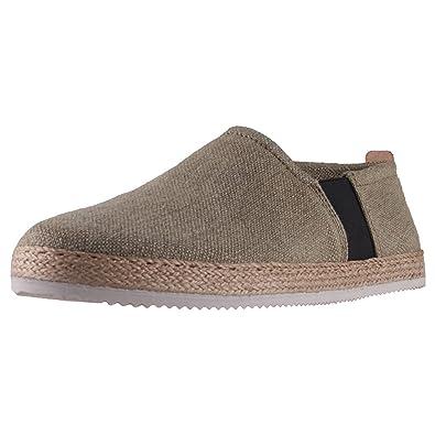 Sneaky Steve Shuttle Hombres Zapatillas sin Cordones: Amazon.es: Zapatos y complementos