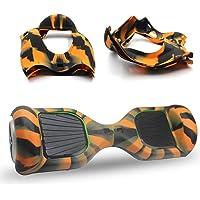 ABBY Hoverboard Hülle Silikon Schutzhülle für 6,5 Zoll 2 Rader Smart Self Balancing Elektro Scooter Cover