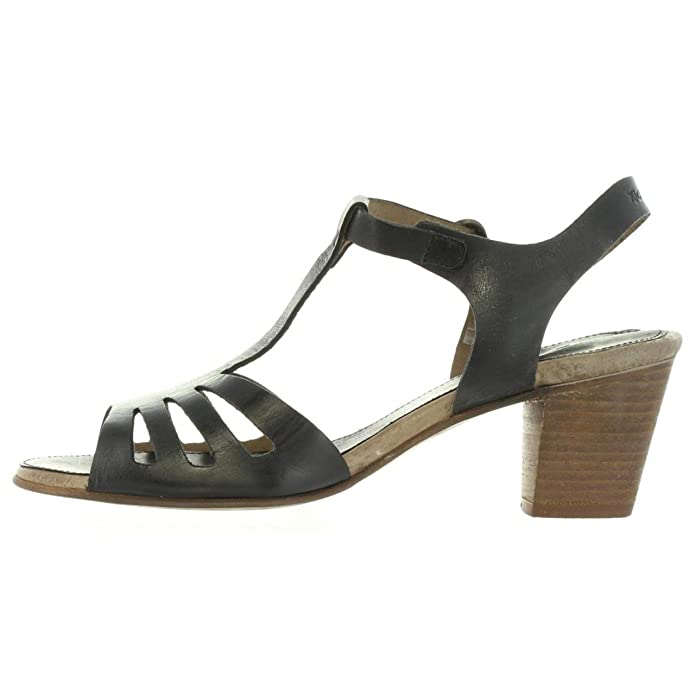 Sandales pour Femme KICKERS 470600-50 SEATTLE 8 NOIR 1AN2yv