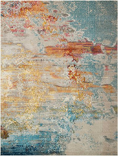 Nourison Celestial Modern Abstract Area Rug 7 10 Quot X 10 6