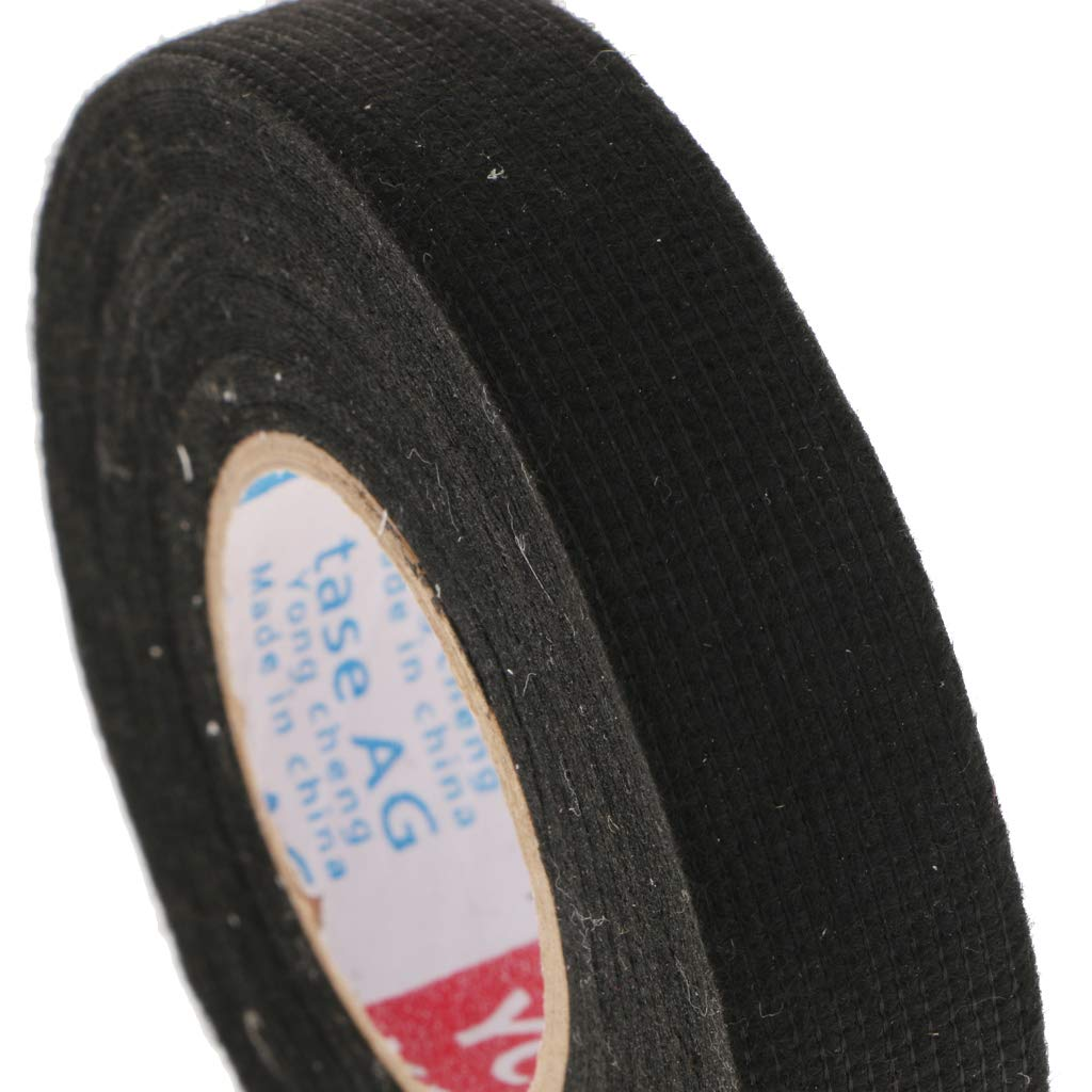 100x8mm Adhesive Cloth Fabric Tape Cable Loom Wire Harness Wrap for on