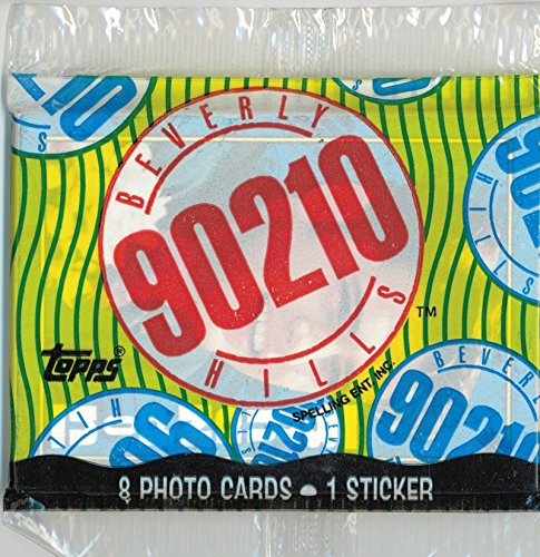 1991 90210 Sealed Trading Card Pack