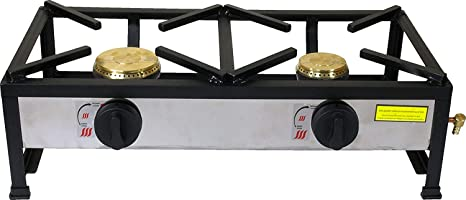 ORW Cocina Gas 2 Fuegos CEE 60cm X 30cm X 100mm X 80mm ...