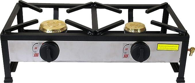 ORW Cocina Gas 2 Fuegos CEE 60cm X 30cm X 100mm X ...