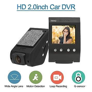"""KKmoon 720p 2.0"""" LCD Grabador DVR Videocámara Vehículo con G-Sensor Grabación de Bucle"""