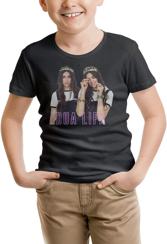 J.SKEY Childrens Kid Dua-Lipa Short Sleeved Cotton Tee Shirt