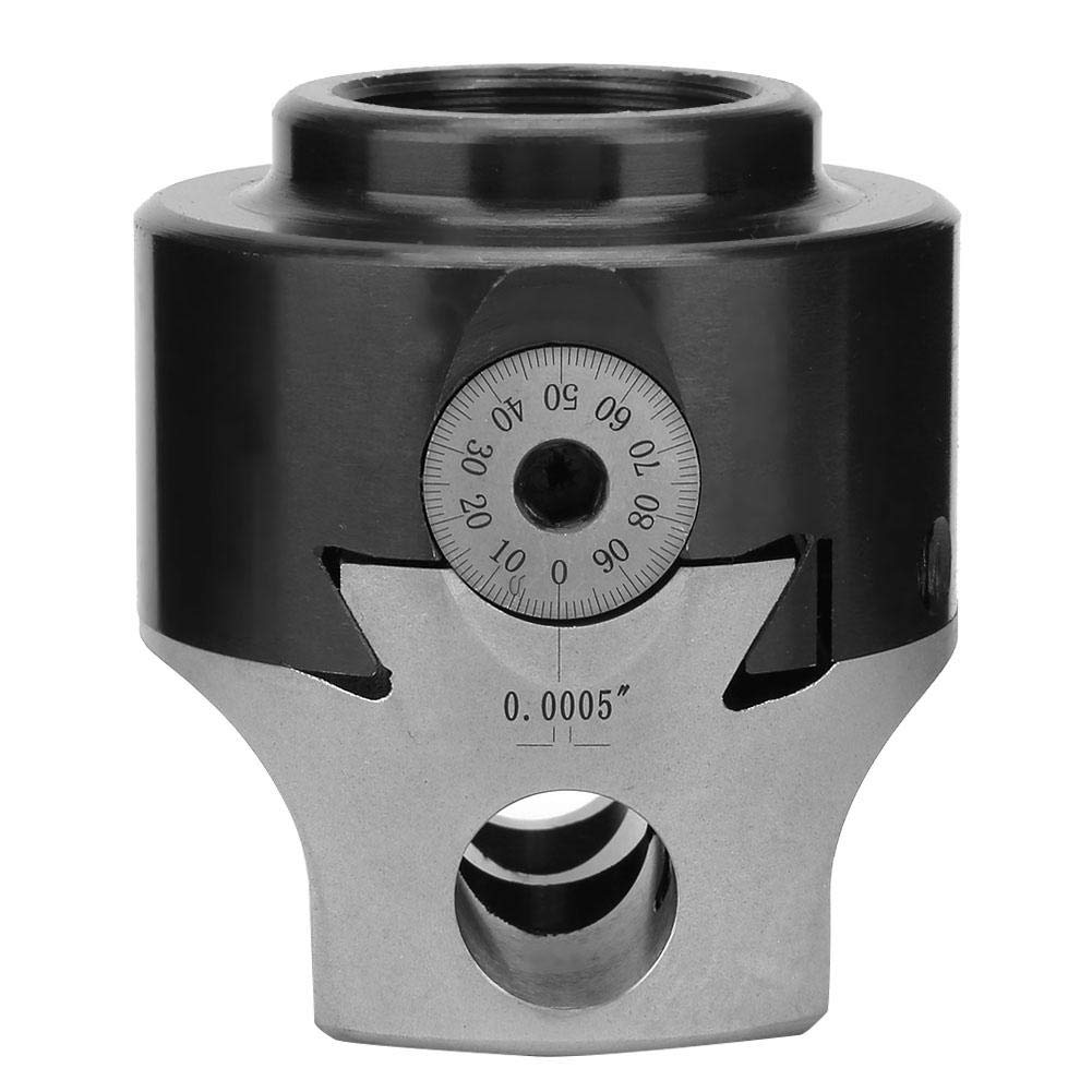 3//4 Boring Head British F1 Milling Boring Head Accuracy 0.005 for Multiple Purpose Used in Milling Machine or Machining Center